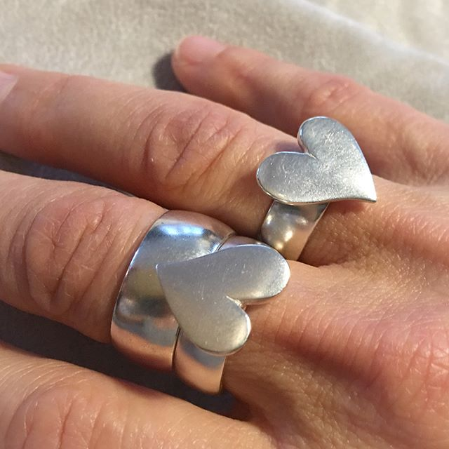 🖤#byme#silver#heart#ring#love#statement#sweet#attitude#relaunch #madeinnorway @bymenorway