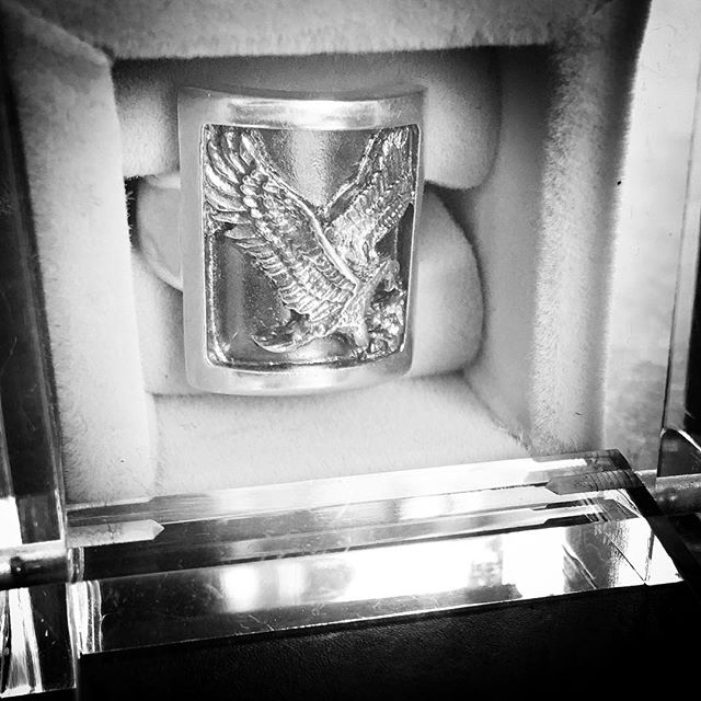 Eagle protection signet🦅#byme#unisex#silver#signet#ring#eagle#protection#relaunch#part2 @bymenorway #mariannetefre