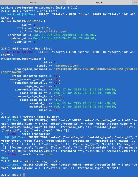RubyGem acts_as_votable Tutorial — Matt Morgante
