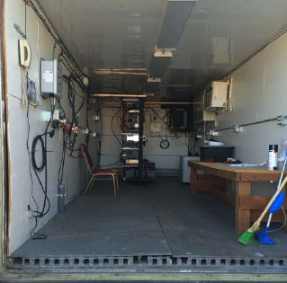Existing Equipment Shelter Interior