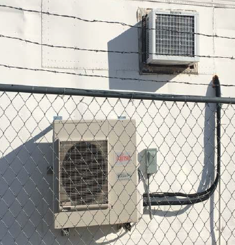Mini-split and window style cooling units