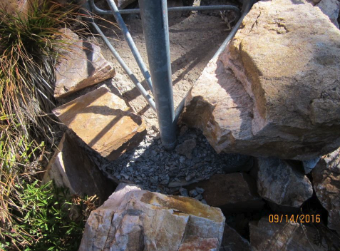 Existing Tower Foundation