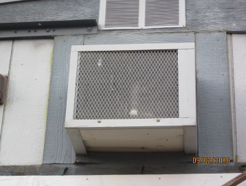 Existing Wall AC Unit