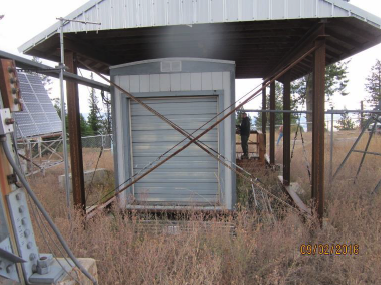 Existing Equipment Shelter