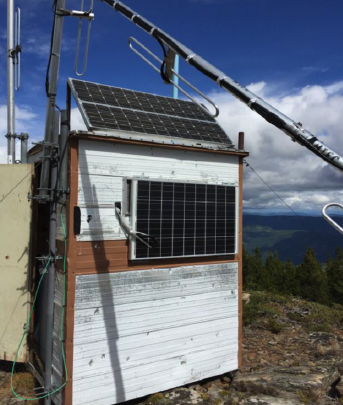 PV Solar array and Broken Antenna