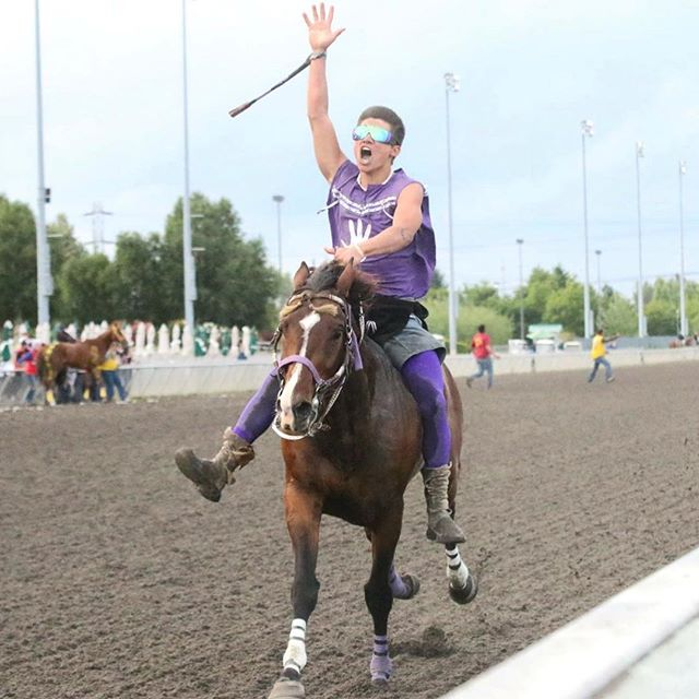 As he crossed the finish line of the 2018 Muckleshoot Gold Cup, Sunday at Emerald Downs, Colville tribal member Scott Abrahamson lifted his hand to the sky. Abrahamson Relay topped the field to walk away from the annual race with a $10,000 first place check. Fellow Colville team, Omak Express, finished third...Read more at Tribaltribune.com.