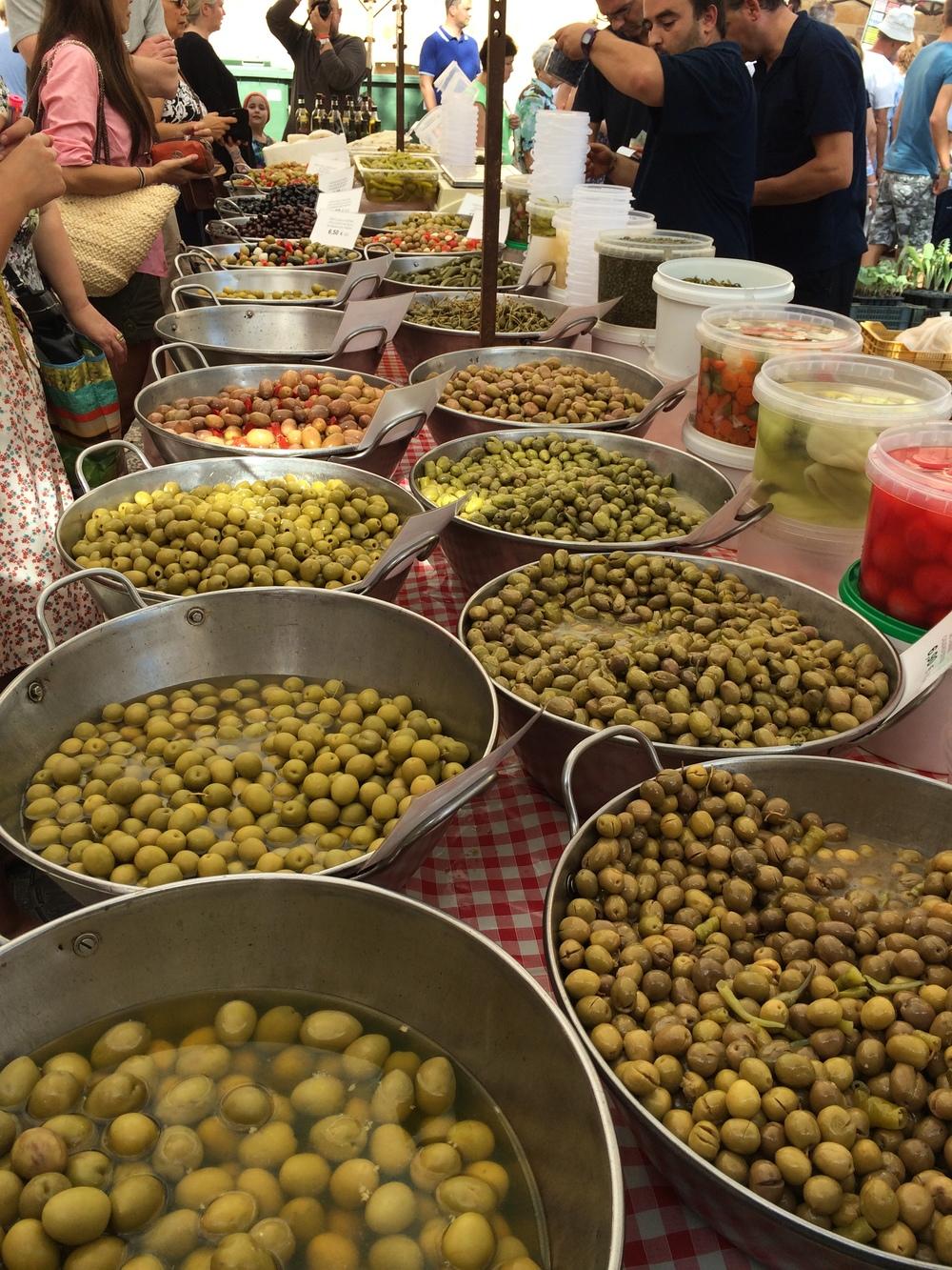 Olives on olives on olives...
