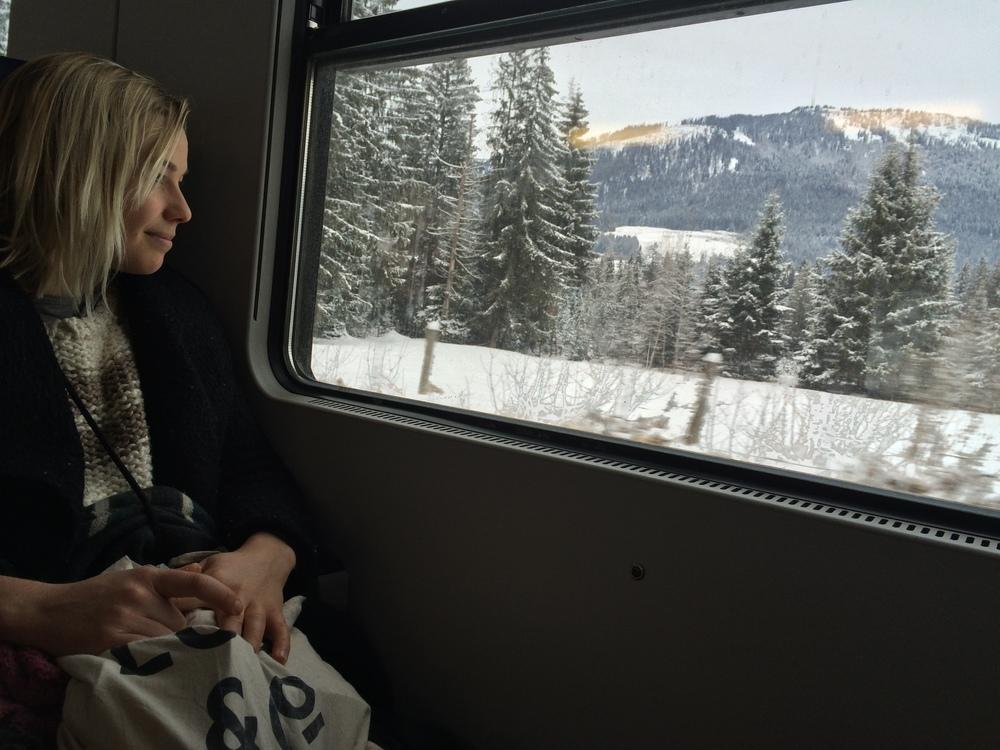 Beautiful train rides...