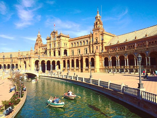 Well, done Spain. Well done. #plazagameonpoint 👌🏽🇪🇸 . . . . . . . . . . . . . . #espana #spain #europe #travel #explore #seville #sevilla #plazadeespana #wanderlust #friday #world #mundo #travelstoke #adventure #paradise #holiday @spain