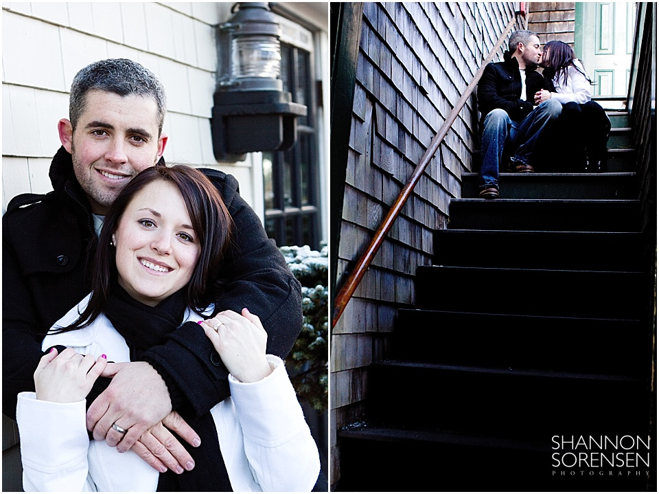 Newport Rhode Island Engagement Photography Shannon Sorensen Photography
