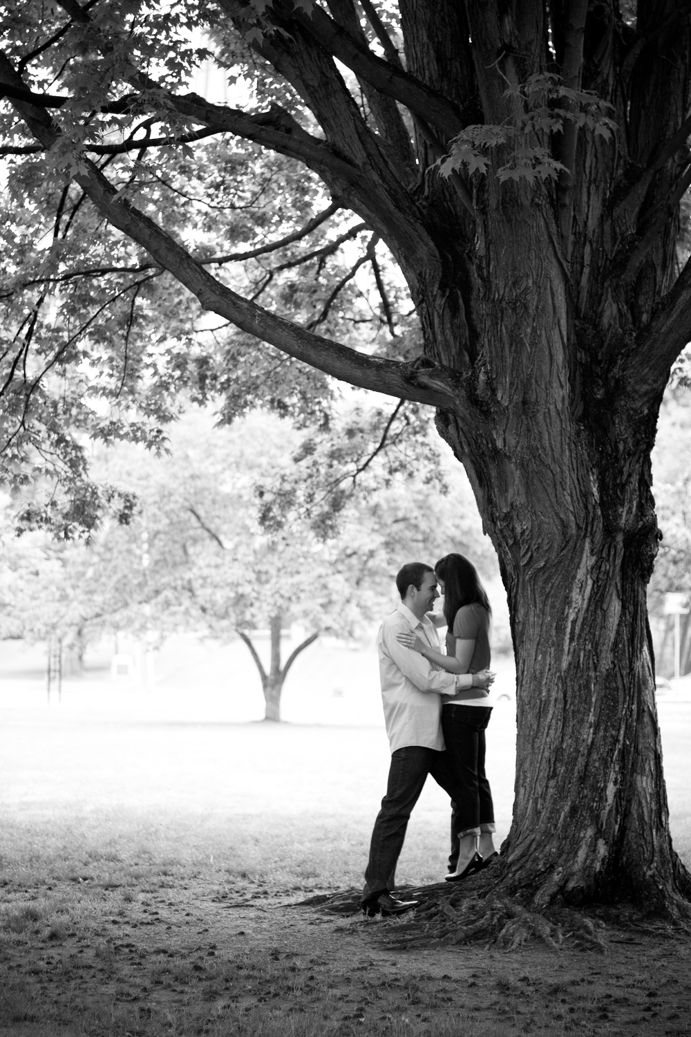 Amherst Massachusetts UMass Engagement Photography by Shannon Sorensen