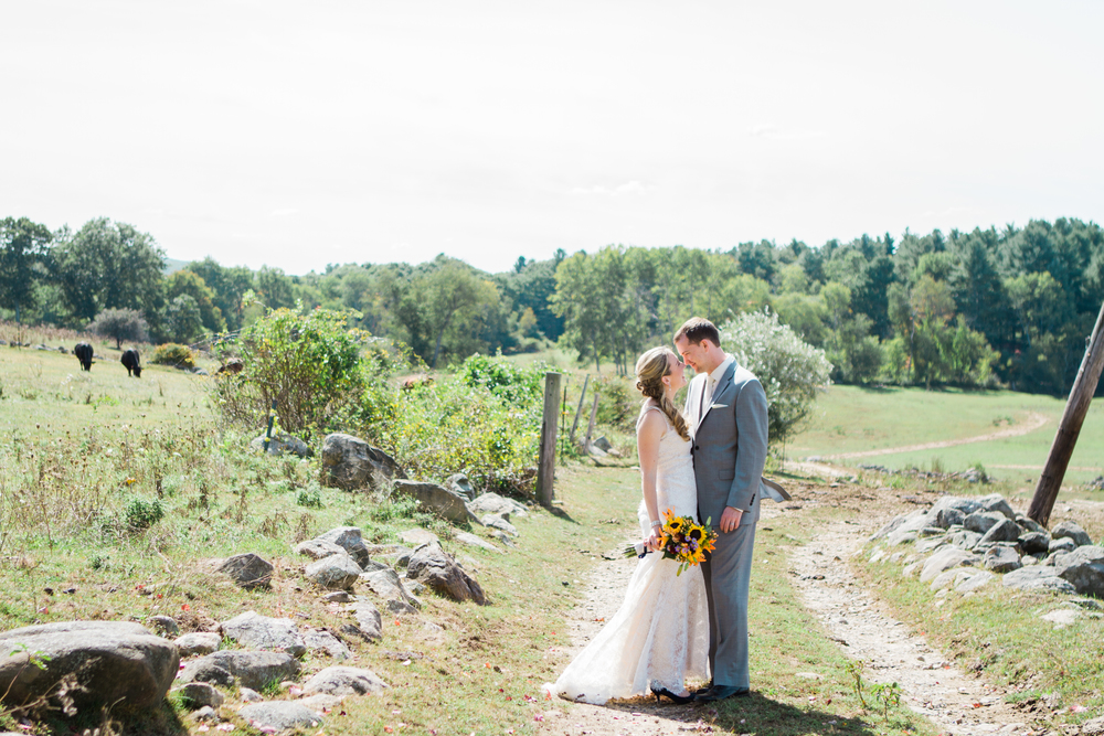 Holly and Derek Salem Cross In North Brookfield Massachusetts Shannon Sorensen Photography
