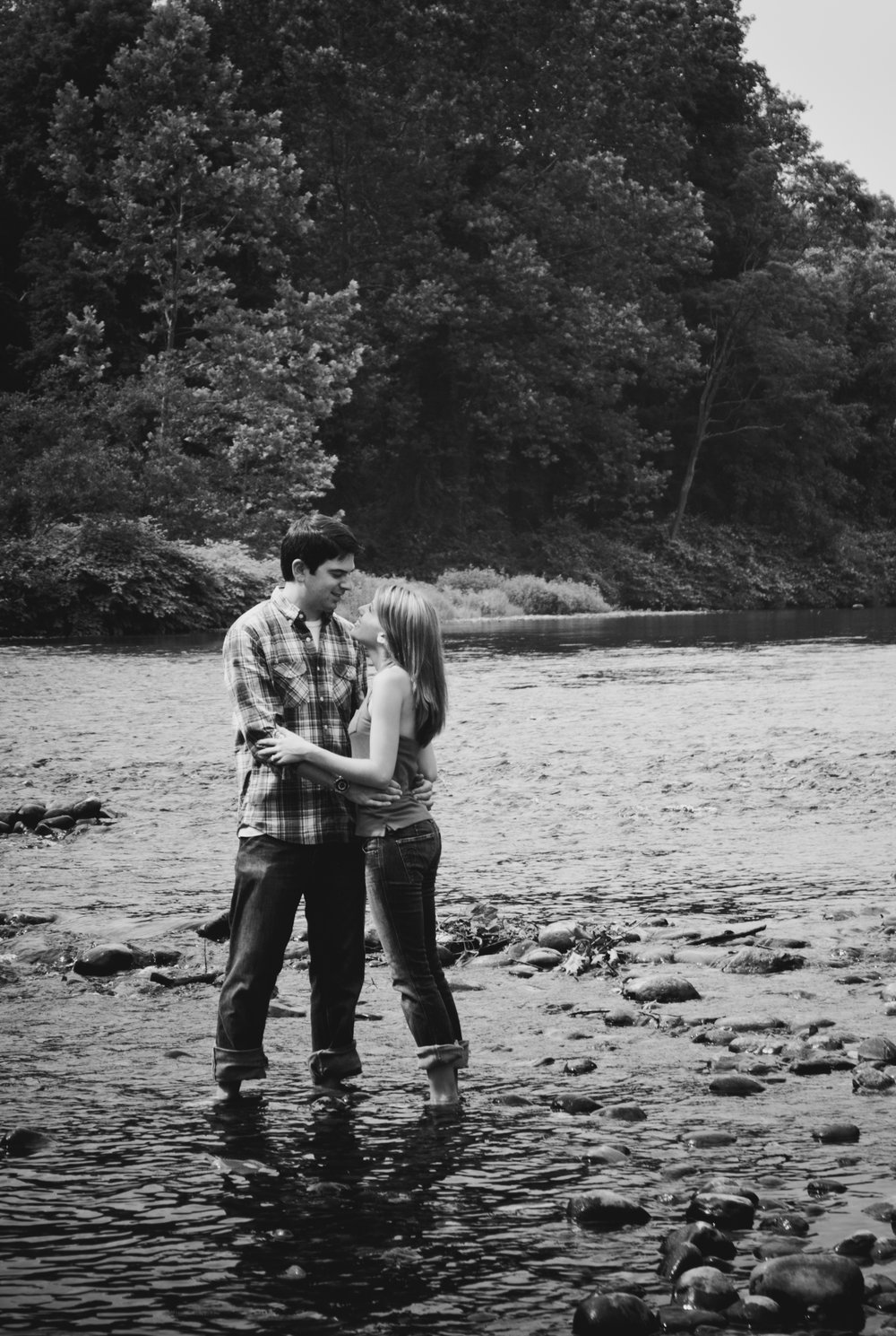 Amanda and Zach Collinsville Connecticut Engagement Photographer Shannon Sorensen Photography