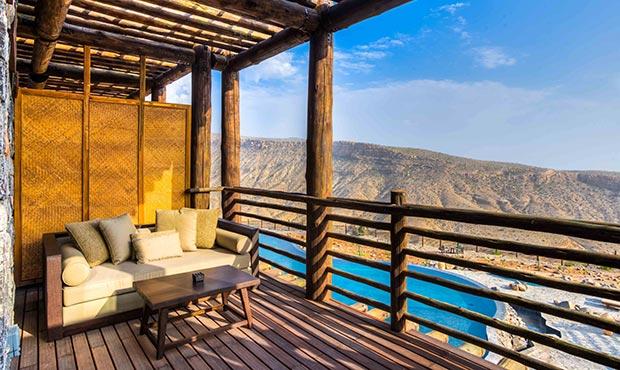 Alila Jabal Akhdar canyon view balcony.jpg