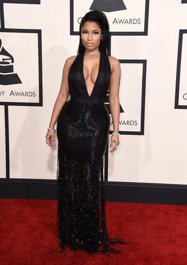 Nicki MInaj Grammys 2015 Tom Ford.jpg