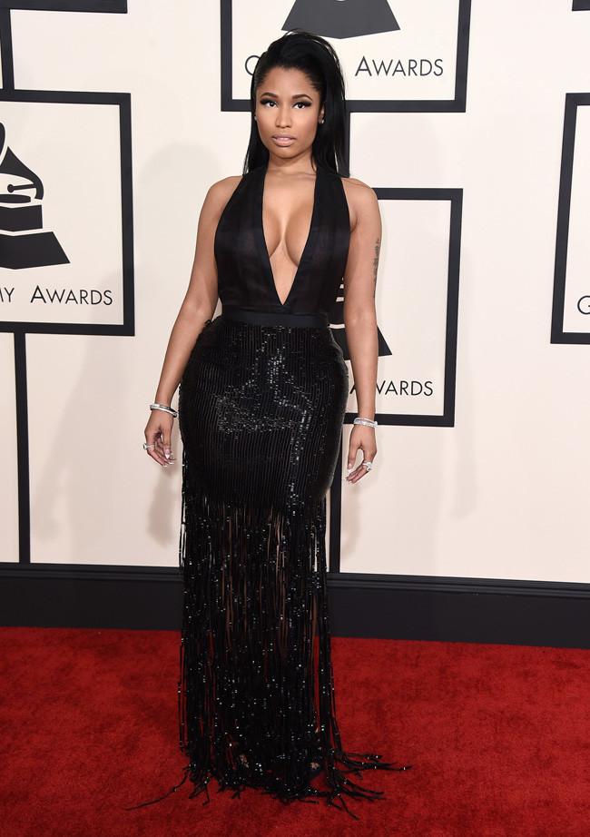 Nicki MInaj Grammys 2015 Tom Ford.jpg