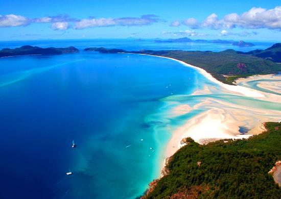 9 - WHITEHAVEN BEACH, WHITSUNDAY ISLAND, AUSTRALIA