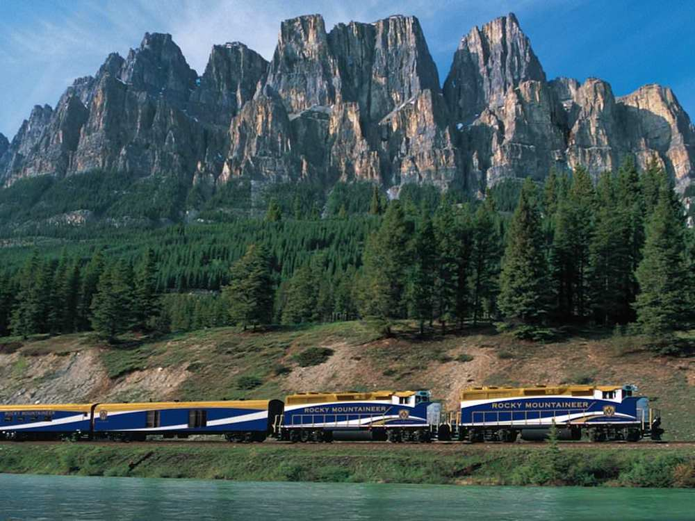 $14,584 ROCKY MOUNTAINEER TRAIN RIDE