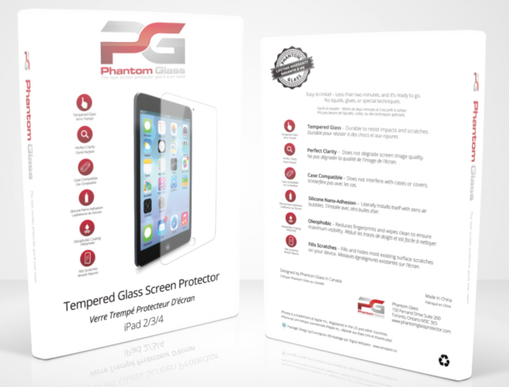 $39 PHANTOM GLASS SCREEN PROTECTOR