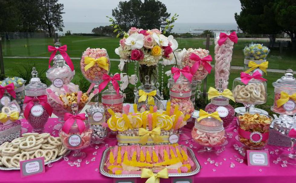 $800 CANDY BUFFET FROM CANDY VIXEN