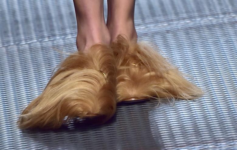 CHIC or SHRIEK - Gucci s Fur Shoes at Milan Fashion Week — The Days ... bc138bd9d3