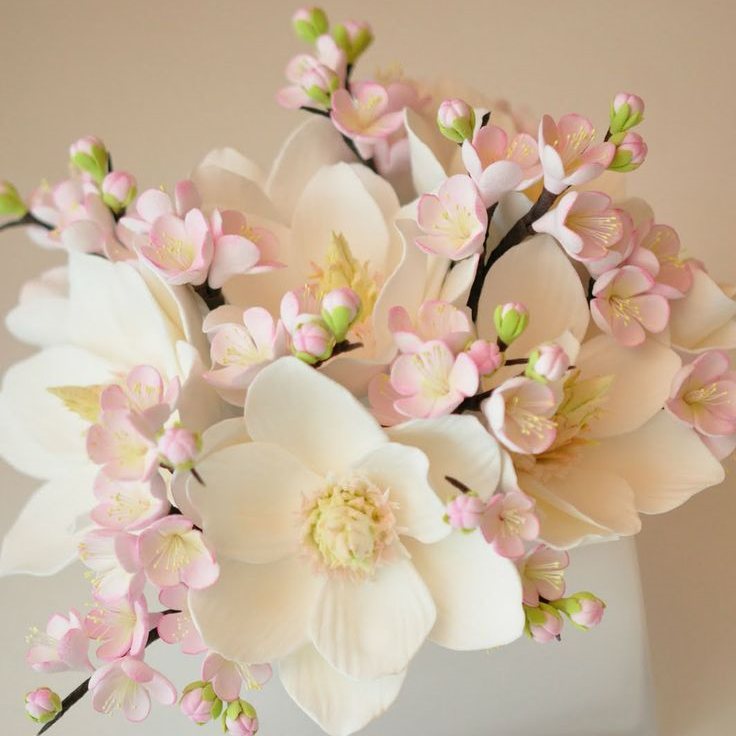 Floral arrangements images Wedding Ceremony Magnolia plum Blossom Flowersjpg How To Wow Diy Simply Chic Floral Arrangements The Days Of The