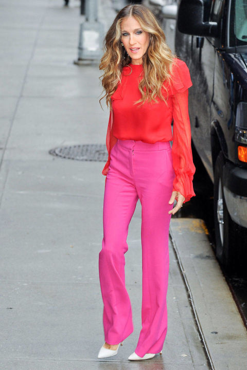 SJP COLOR BLOCKING