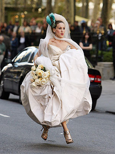 CARRIE BRADSHAW WEDDING SATC