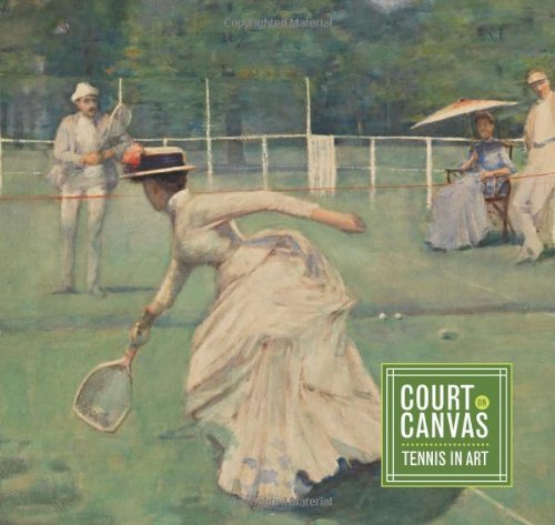 Tennis Art Book - Court on Canvas