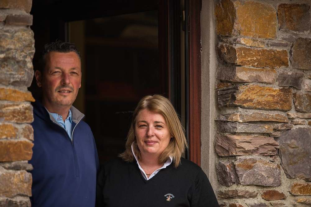 Golf Shop Managers-Brian and Lynda Higgins