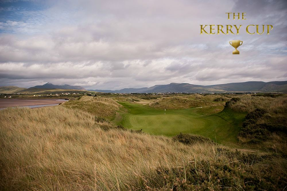 High school golf athletes practice and compete at Waterville with visiting prominent university coaches. More information on The Kerry Cup