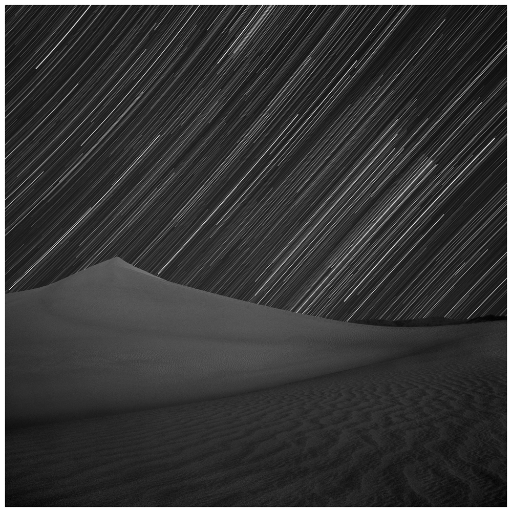 Orion Over Mesquite Dunes, Death Valley