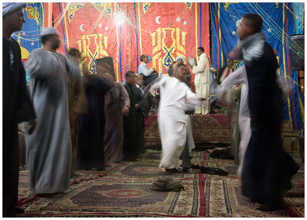 Dancing at the Mawlid, Aswan