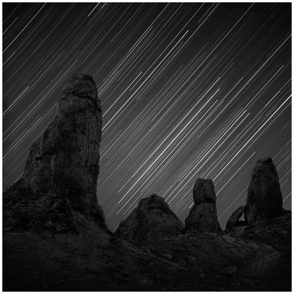 Orion Over the Trona Pinnacles