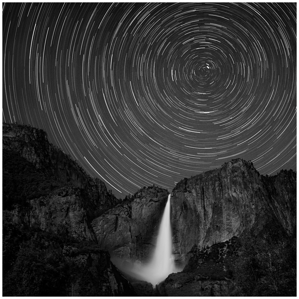 Polaris Over Yosemite Falls