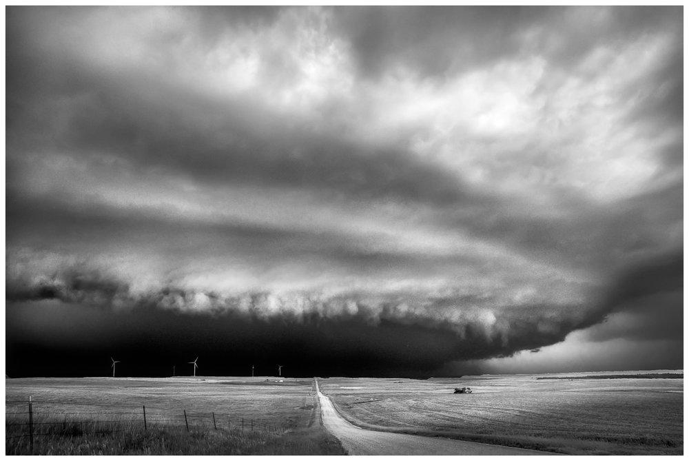 Driving into Darkness Near Crow Lake, South Dakota.jpg
