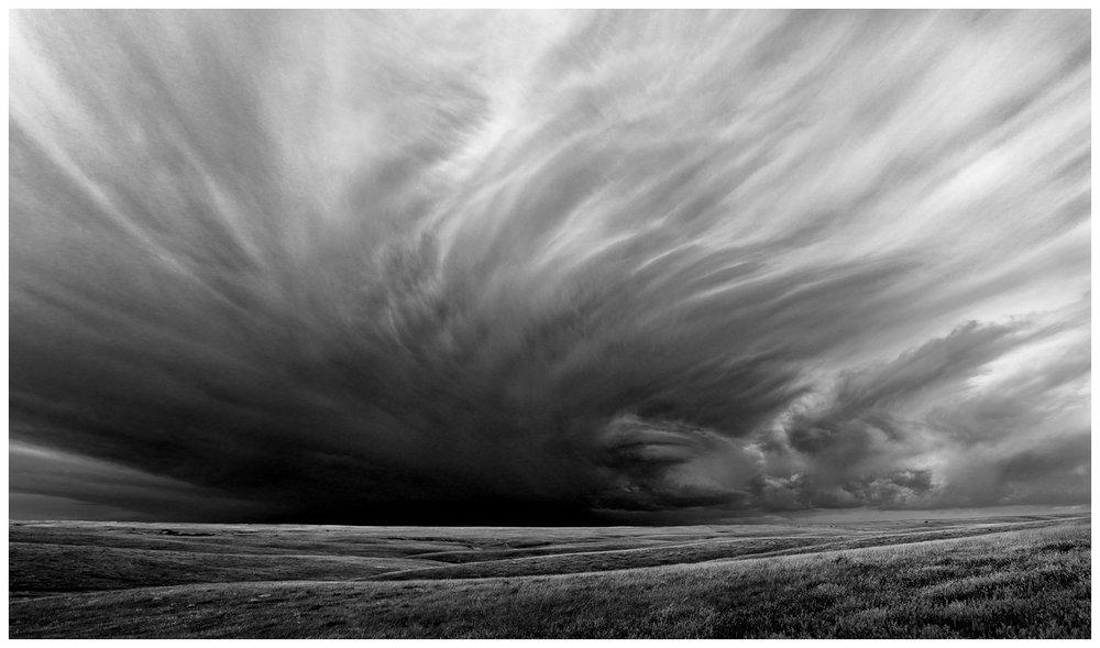 Building Storm, Jones County, South Dakota