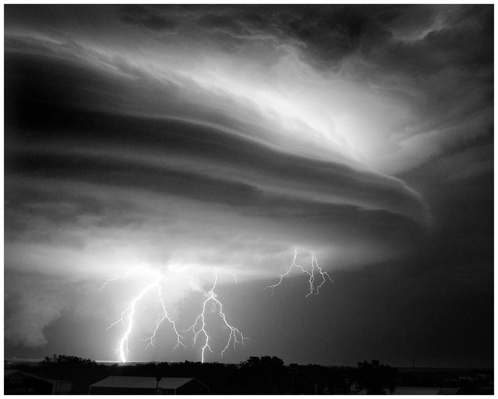 Lightning Storm Near Canadian, Texas 2