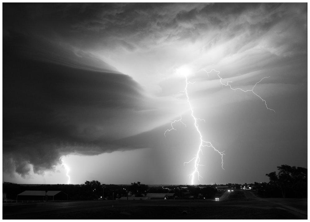 Lightning Storm Near Canadian, Texas 3
