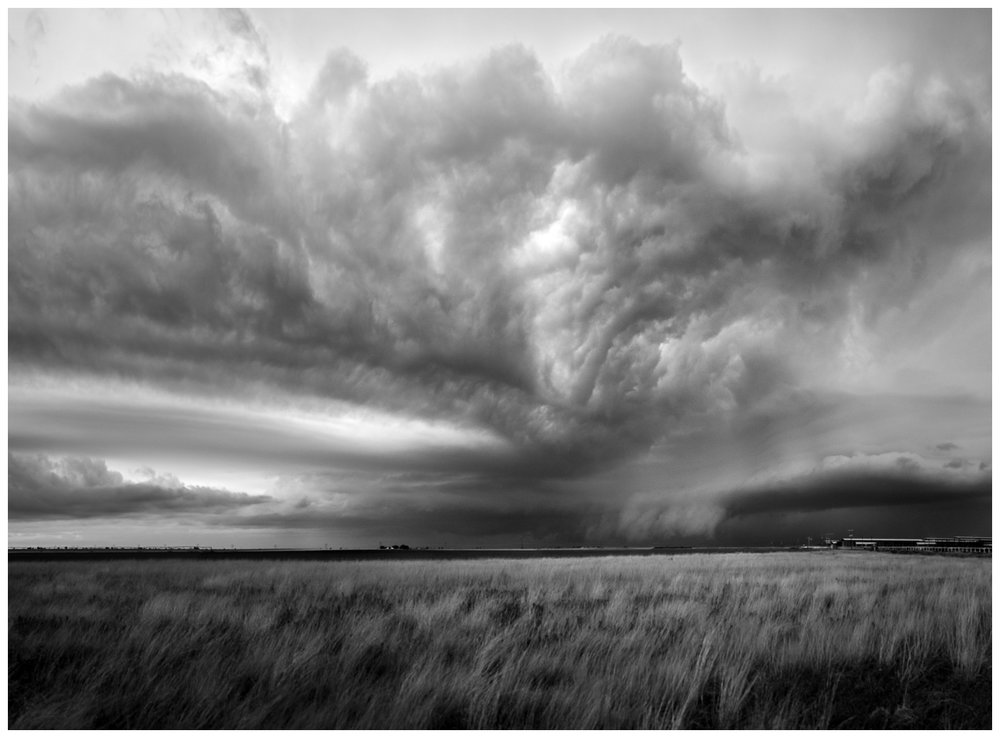 Storm Building Near Clovis, New Mexico