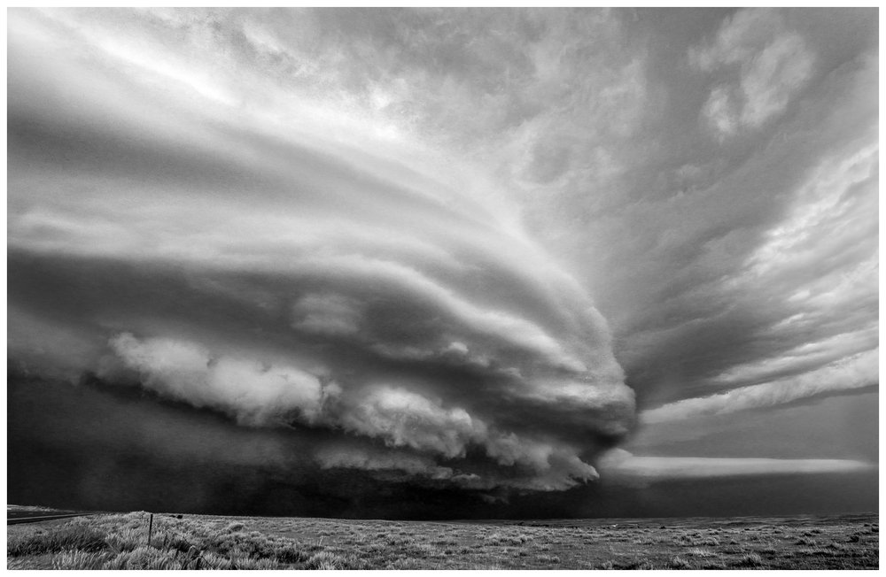 Supercell in the Texas Panhandle