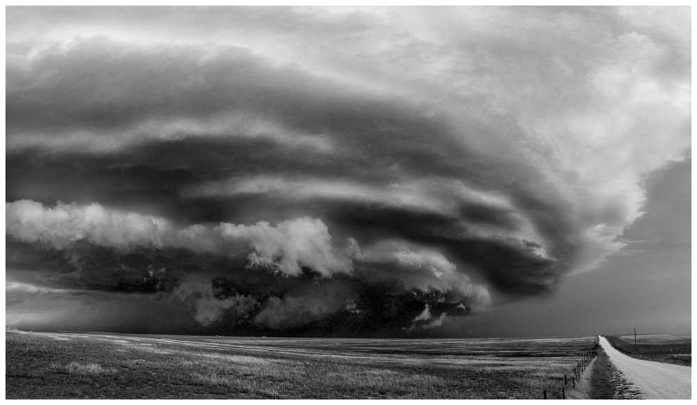 Supercell in Western Kansas