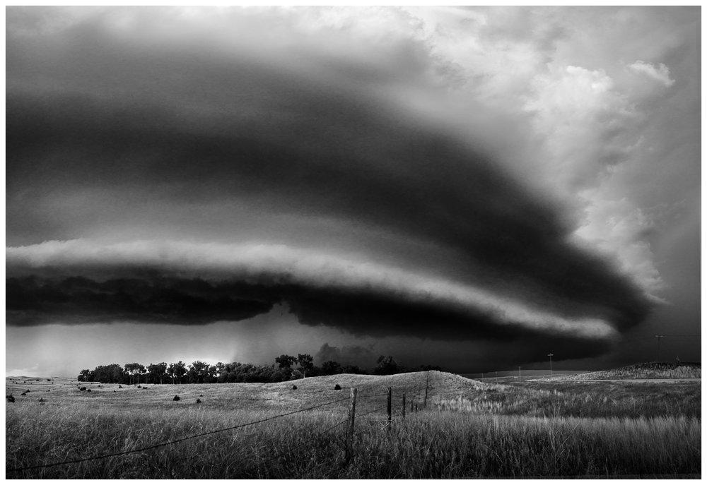 Supercell Over Central Nebraska