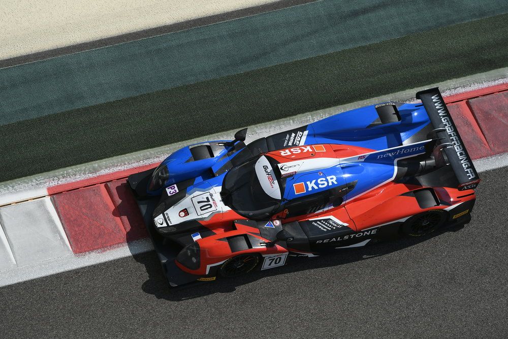 LIGIER JSP3 - Chassis : Carbon monocoqueCrashbox : CarbonEngine : Nissan VK 50 V8 5.0LMAX Power : 420 bhpSuspension : Double wishboneLength : 4610 mmWidth : 1900 mmWeight : 930 kgGearbox : Sequential 6 speeds steering wheel-mounted paddle shifts