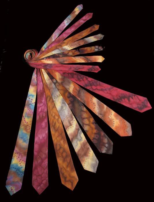Deborah Younglao hand painted silk tie