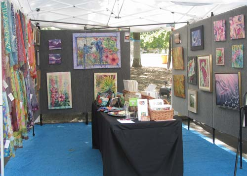 Deborah Younglao booth-Artsplosure-2012JPG