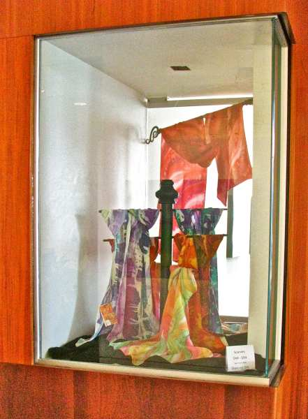 Deborah Younglao wearable art display