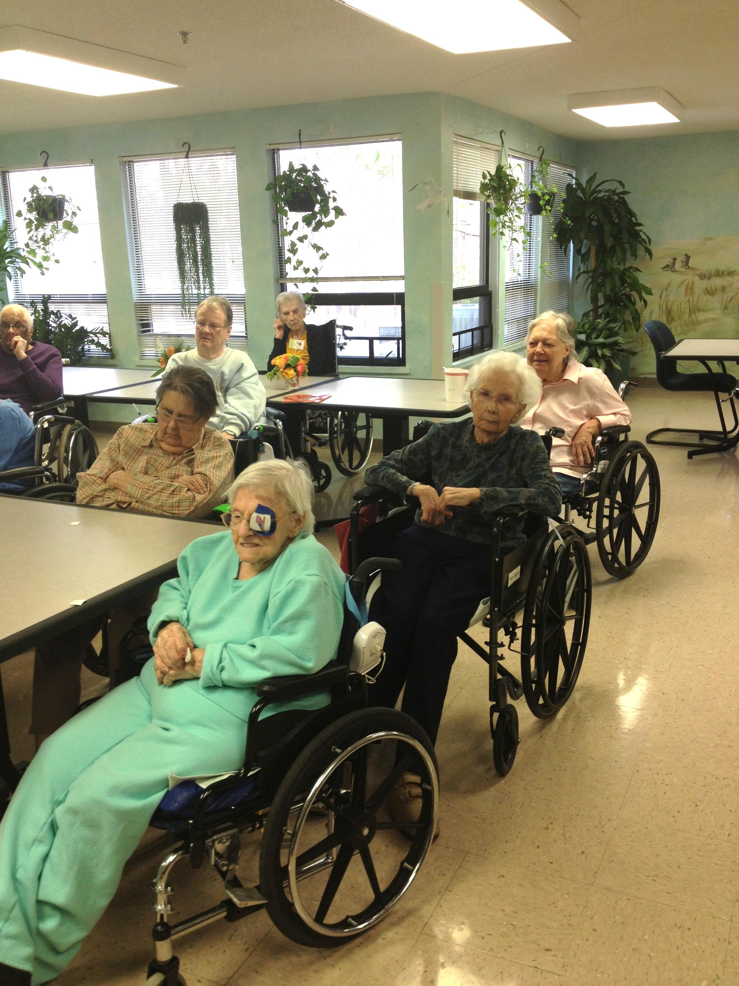 seniors at Rex Rehab