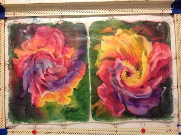 batik floral WIP