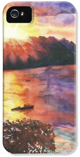 Deborah Younglao seascape painting printed on phone case